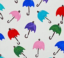 Crazy About Umbrellas by Sue Ellen Thompson