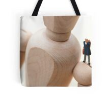 On the Shoulders of Giants Tote Bag