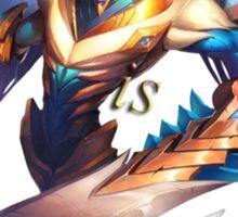 Aatrox League of legends Violence is elegance Sticker