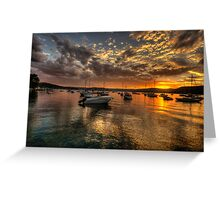Adventures - Paradise Beach, Sydney - The HDR Experience Greeting Card