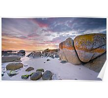 Fire in the Sky :: Bay of Fires Poster