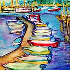 On The Boardwalk by Helena Bebirian