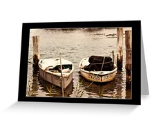 boats forster Greeting Card