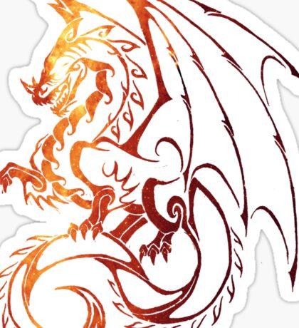Dragon Space Sticker