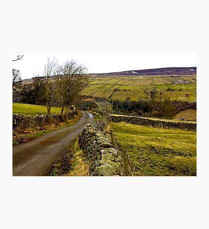 Dales Country Road. Photographic Print