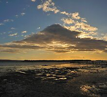 Poole Harbour - The Cloud Now Landing by delros