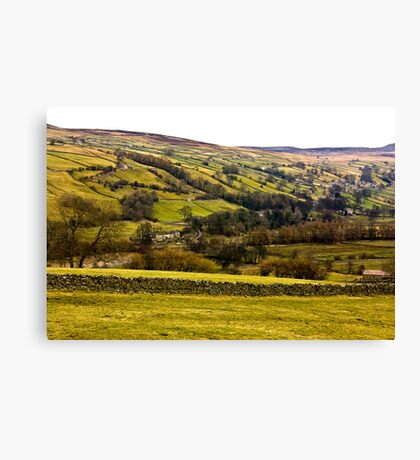 The View from Crackpot. Canvas Print