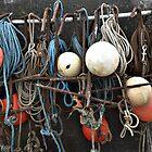 Fishing equipment, Sheringham, Norfolk, UK by Richard Flint