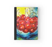 Cherries....Life is Just a Bowl of Cherries Hardcover Journal