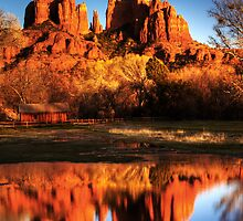 Cathedral Rock   Sedona, Arizona by Justin Baer