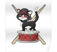 Kitten Josh Dun + Drums Poster