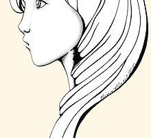 Always a Mystery  girl # 24 by ninamarie