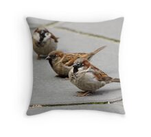 Three Beggars Throw Pillow