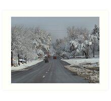 Spring Storm - Colorado Art Print