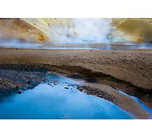 Icelandic Hot Springs Photographic Print