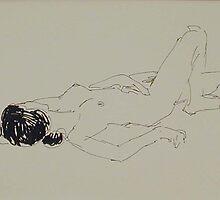 Pen & ink quick sketch by walden swank