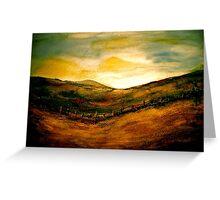 Landscape Hardy...Egdon Sunrise Greeting Card