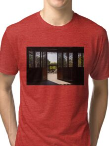 Walk Out to the Garden... Tri-blend T-Shirt