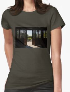Walk Out to the Garden... Womens Fitted T-Shirt