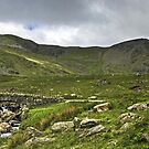 The Coniston Fells - Dow Crag by Jamie  Green