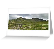 The Coniston Fells - Dow Crag Greeting Card