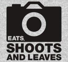 Eats, Shoots & Leaves... Kids Tee
