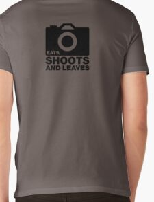 Eats, Shoots & Leaves... Mens V-Neck T-Shirt