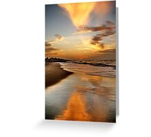 Larry SUNSET Greeting Card