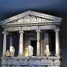Temple, British Museum, London by James J. Ravenel, III