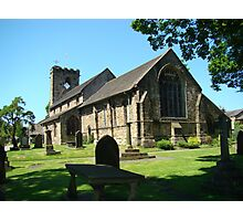 St Mary & All Saints Church Photographic Print