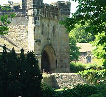 Whalley Abbey Entrance by Kazytc