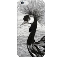 Crowned Crane iPhone Case/Skin