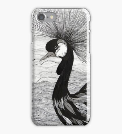 Crowned Crane iPhone Case/Skin
