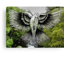 Kowhaiwhai Dove Canvas Print