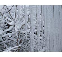 ice swords Photographic Print
