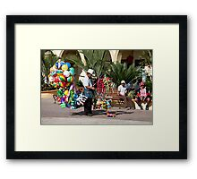 Where Are The Kids?? Framed Print