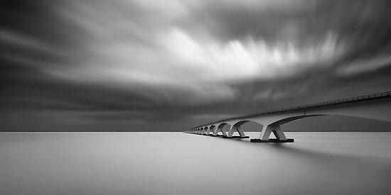 Zeelandbridge Study 2:1 Panorama by Joel Tjintjelaar