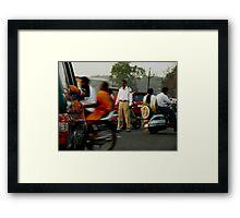 Traffic Police Framed Print