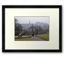 Auld Reekie From Calton Hill Framed Print