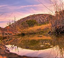 Enchanted Rock Reflections by ijam357