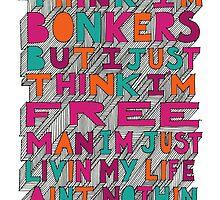 Bonkers by Helen Aldous
