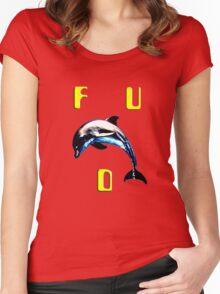 f. u. d. Women's Fitted Scoop T-Shirt