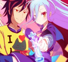 No Game No Life 3 Sticker
