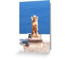 Greek Statue Greeting Card
