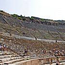 Ephesus Theatre by Tom Gomez