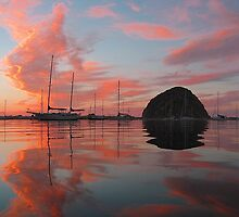Morro Rock by Clancey Meyer-Gilbride