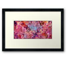 pink flush Framed Print