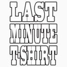 Last minute by valizi
