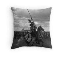 'The Joust' Throw Pillow
