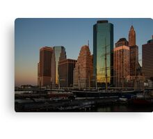 Colorful New York  Canvas Print